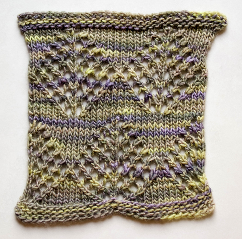 Pine Lace swatch